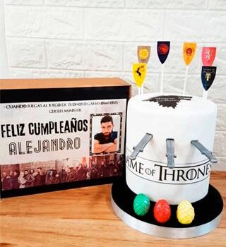 torta personalizada game of thrones chaclacayo peru