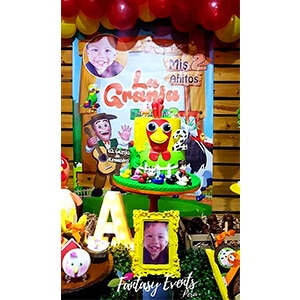 torta granja del zenon chaclacayo - Fantasy Events